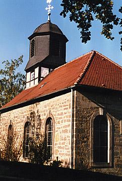 Die Kirche in Rengershausen, noch ohne Uhr!
