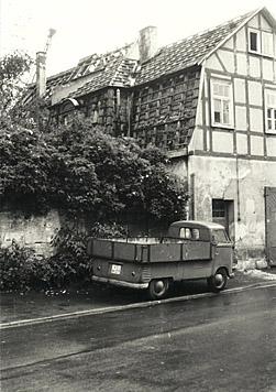 Das damalige Spritzenhaus.
